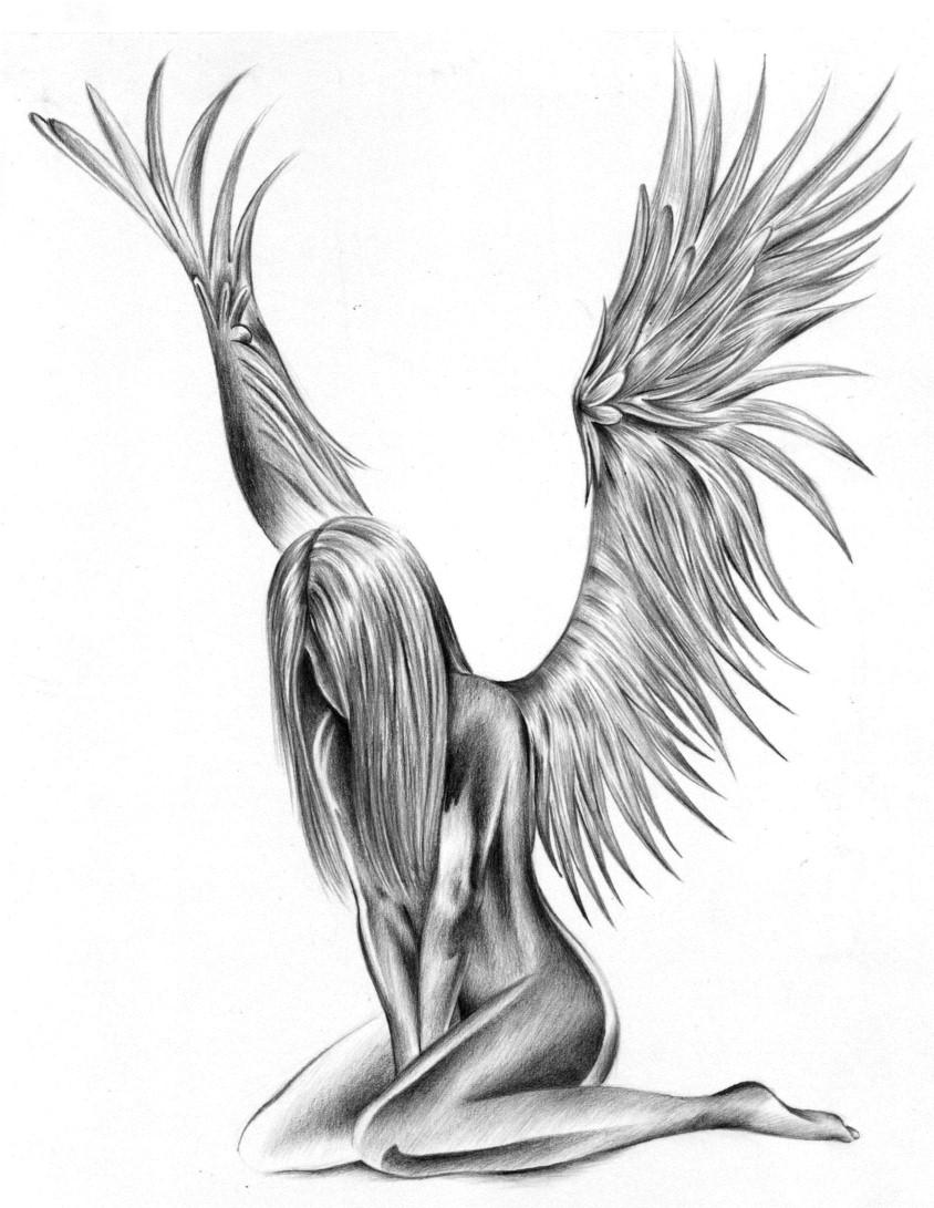 Angel Tattoo Designs For Women Free Angel Tattoos Free Tattoo