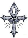 Ankh Tattoo Eye all seeing
