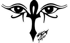 Ankh Tattoo eyes