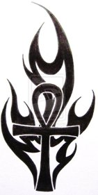 Ankh TribalTattoo