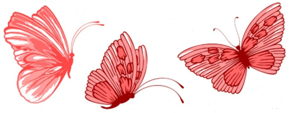 red butterfly tattoos