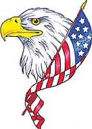 Eagles TattooAmerican flag