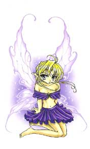 Pixie Fairy in Pixie Outfit