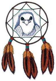 dream catcher feather tattoo