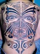 Maori Full Back tattoo