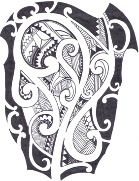 maori tattoo design idea