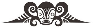 maori face tattoo idea