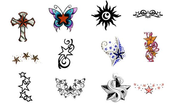 Star tattoo meaning ideas for Star tattoos meaning