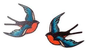 pair of swallows tattoo