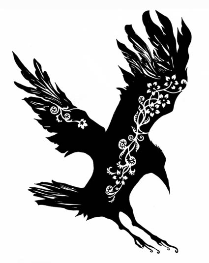 Crow Tattoo art