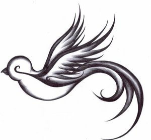 Dove Bird Tattoo Designs