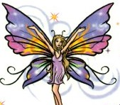 Fairy Buterfly Tattoo - Large Free Tatoo Gallery