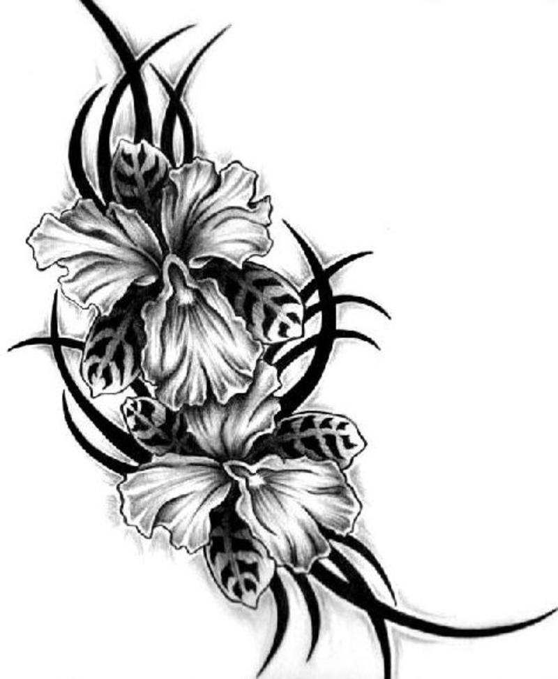 Look At the different types of Floral Tattoos