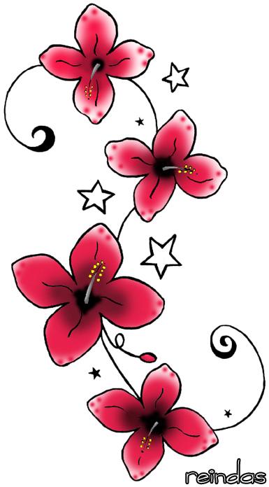 Tattoo Design Flower