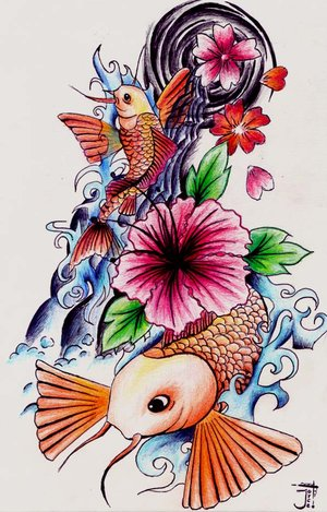 koi tattoo ideas