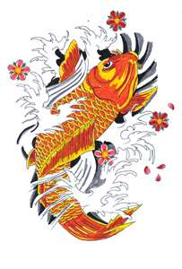 Koi tattoo meanings ideas for koi tattoos for Koi meaning in english