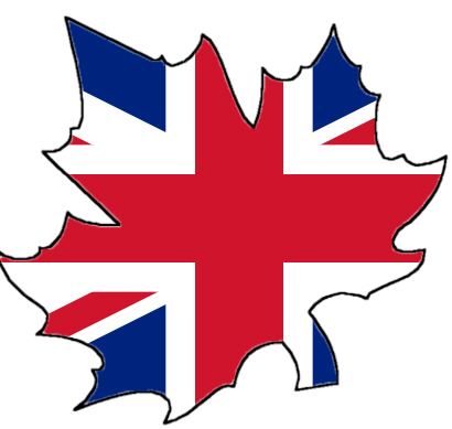 maple leaf union jack tattoo design