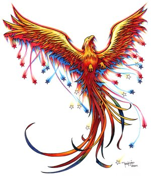 rising phoenix stars tatto