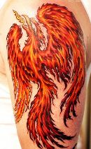 rising fire bird