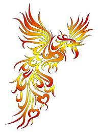 rising bird of fire