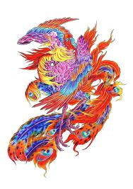 elaborate Phoenix Tatto art